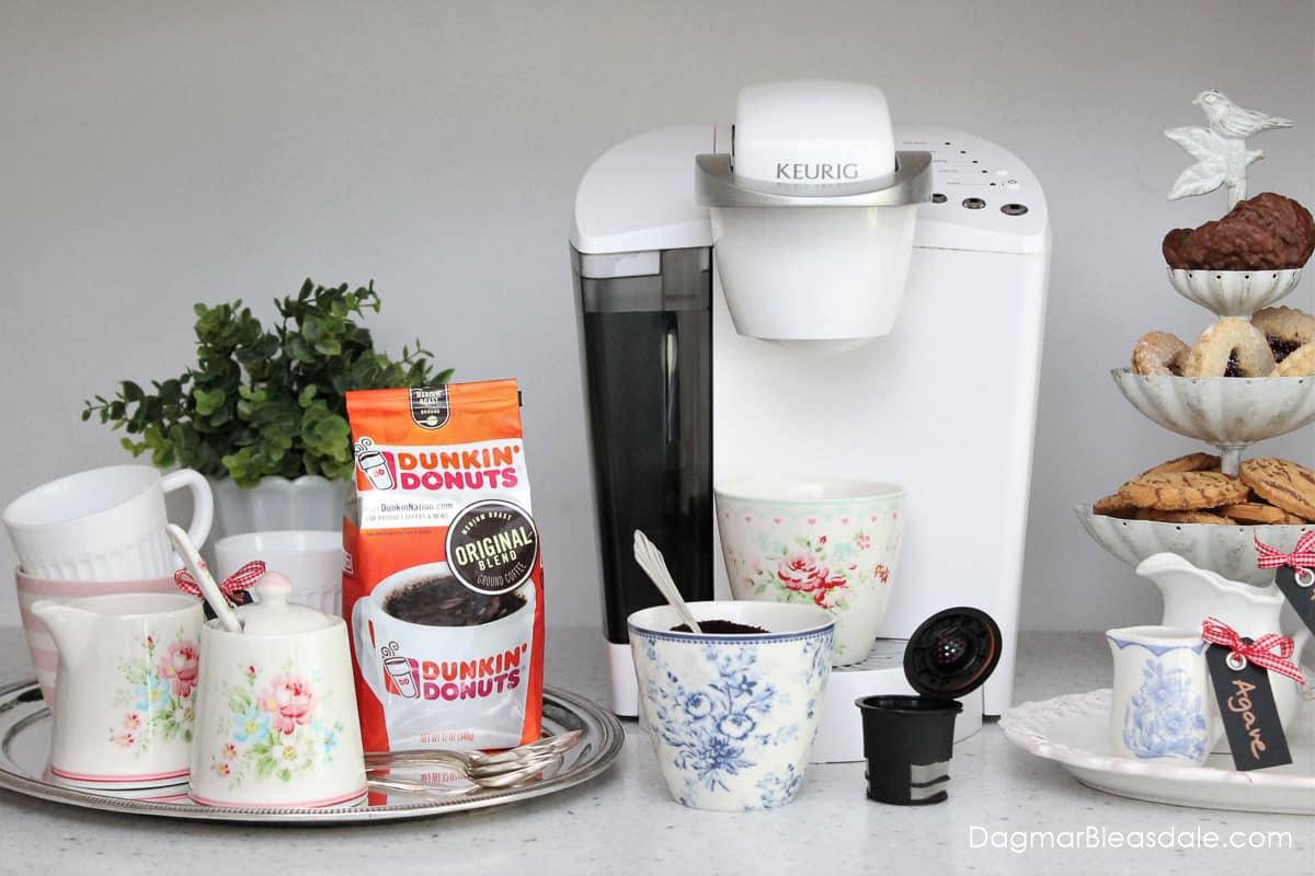 coffee station setup