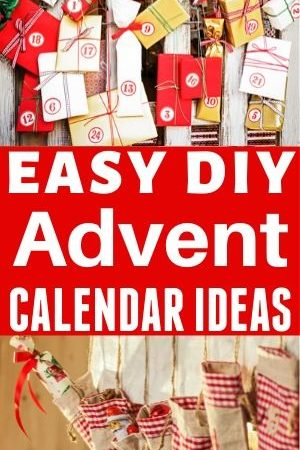 Last-Minute DIY Advent Calendar Ideas