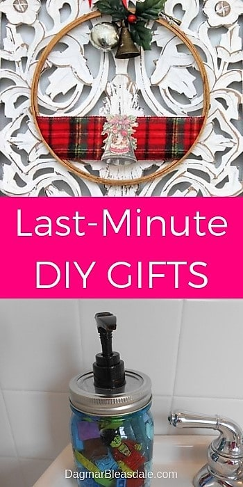Last-minute DIY gifts, DagmarBleasdale.com
