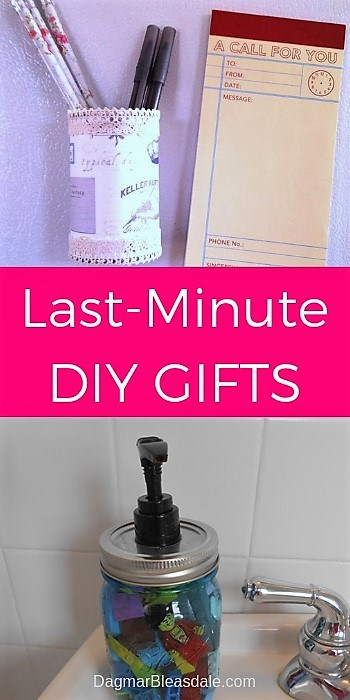 last-minute diy gifts