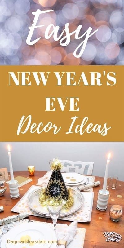 New Year's Eve party supplies easy