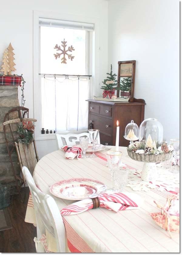 farmhouse Christmas rustic decor ideas