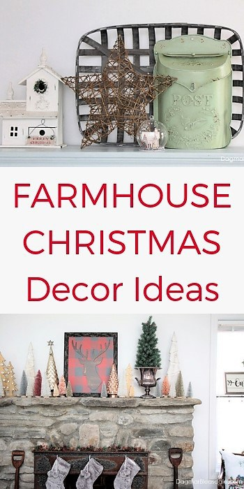 farmhouse and cottage Christmas decor