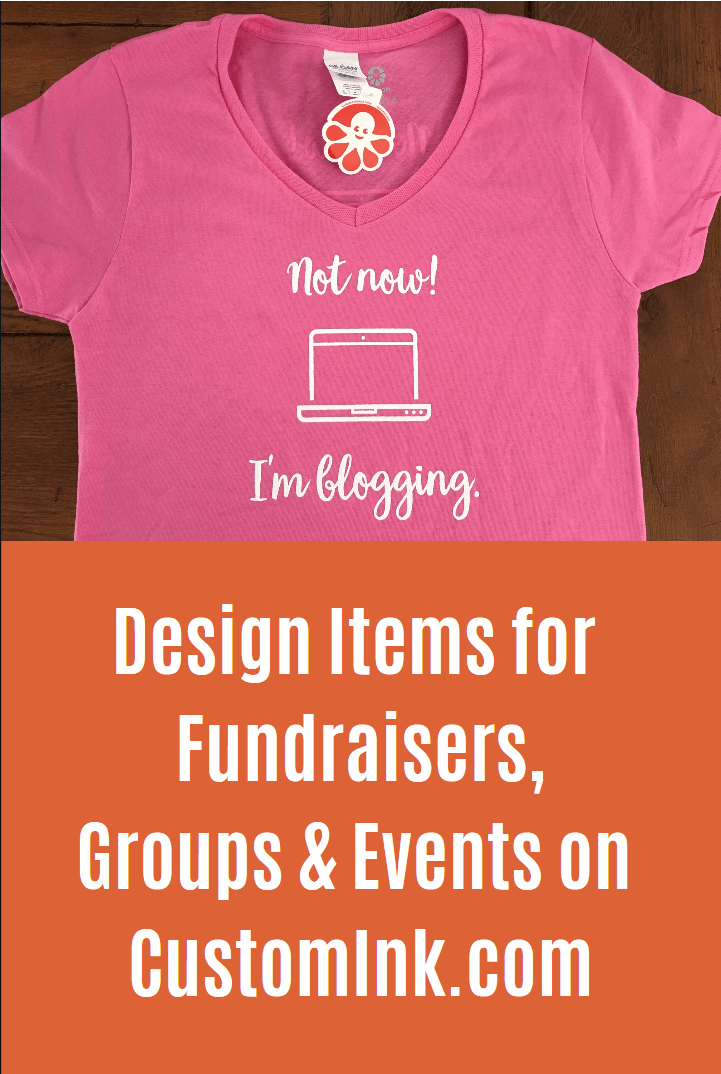 Custom Ink customized items for fundraisers and events
