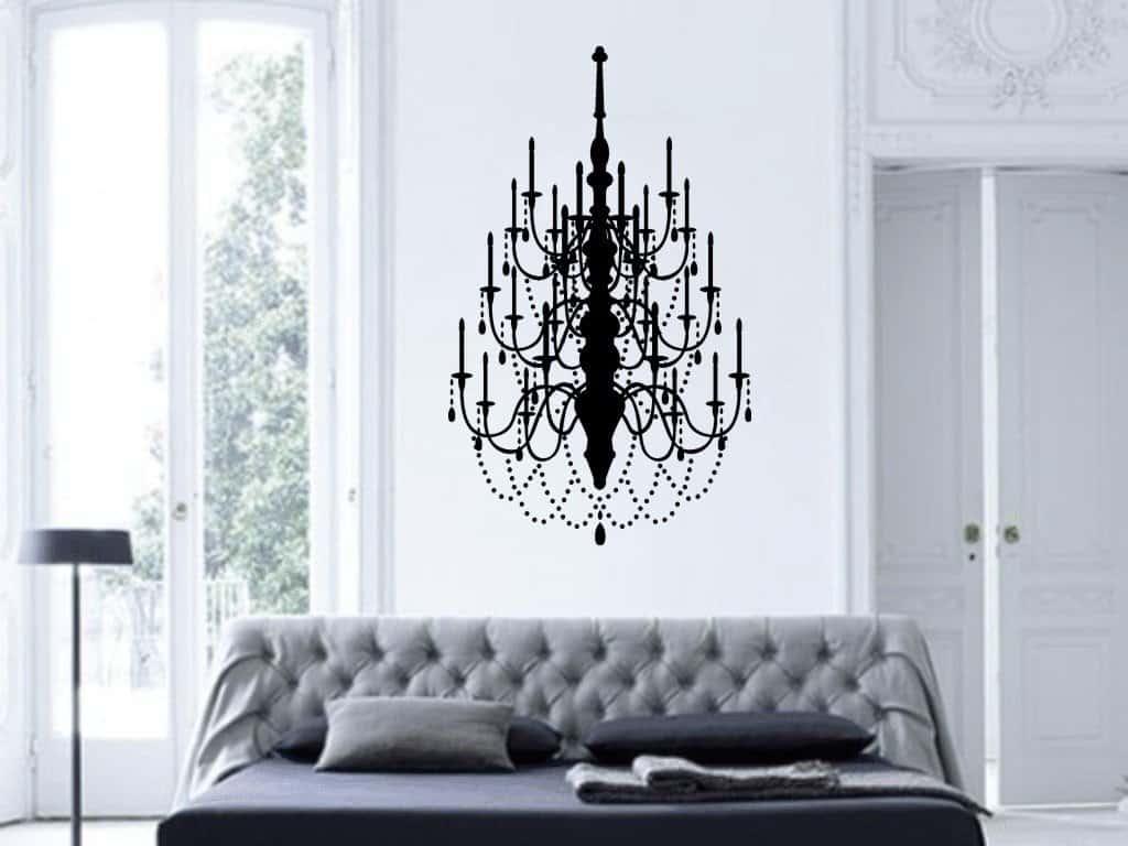 chandelier sticker