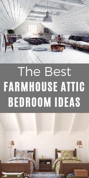 farmhouse attic bedrooms
