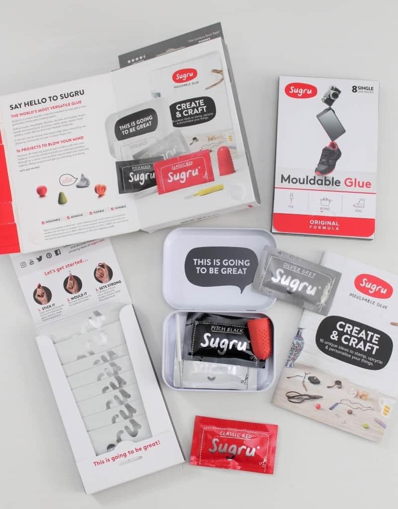 Sugru glue kits, fix anything with Sugru glue