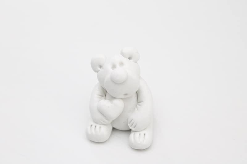 teddy bear made out of Sugru glue