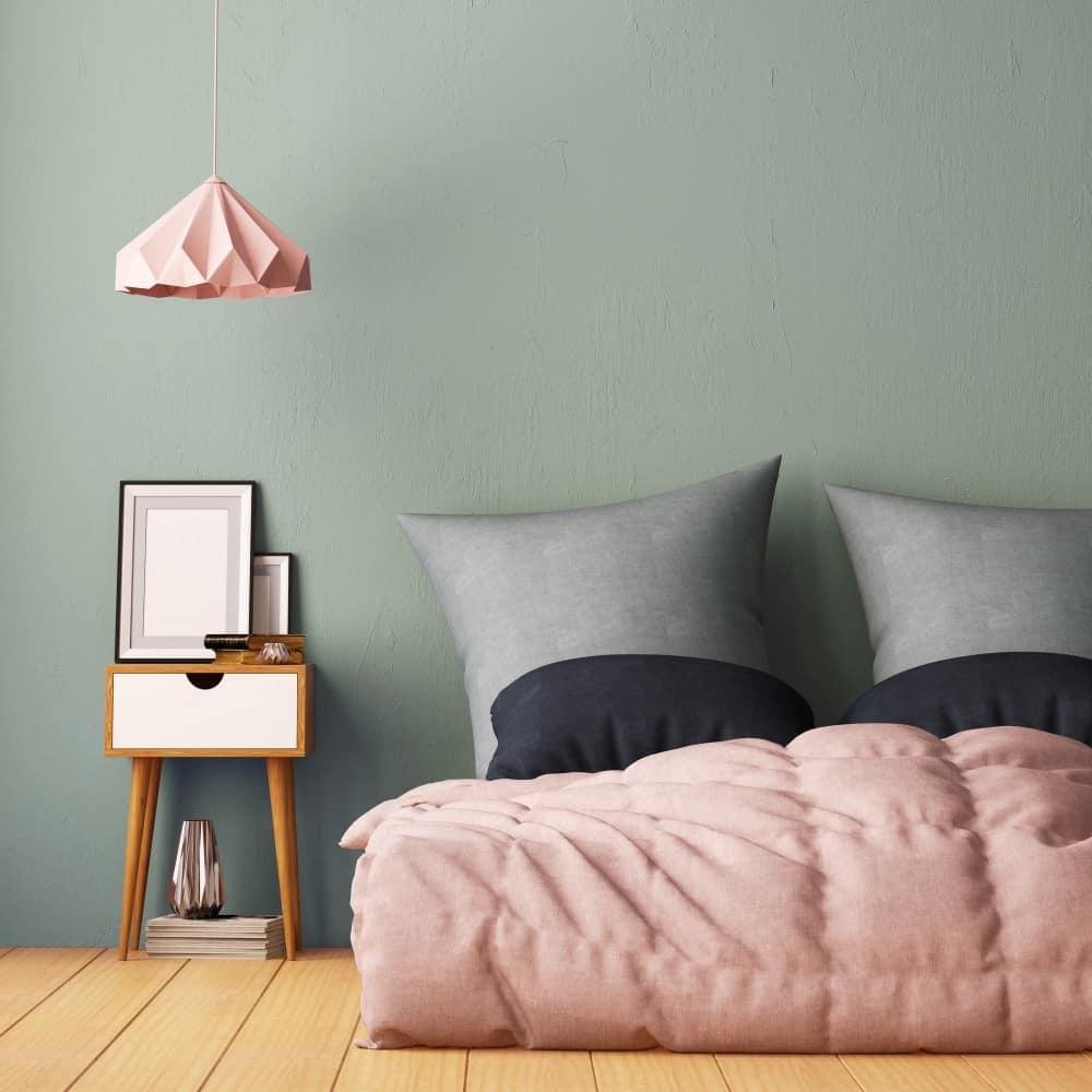 bedroom color calming green