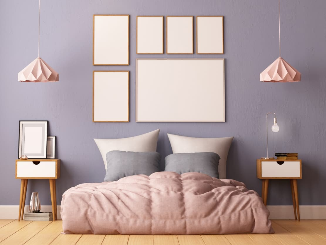 bedroom color taupe