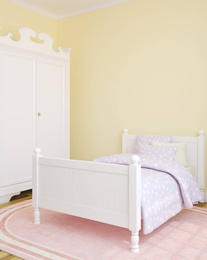 bedroom color yellow